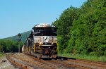 NS SD70ACe 1000 leads 37A past CP GRAY